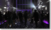 Thumbnail of black LED dance floor